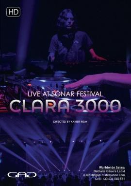 Affiche de Clara 3000 au Sónar Festival 2017