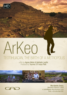 Poster of Teotihuacan: the birth of a metropolis (Mexico)