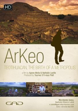 Affiche de Teotihuacan : naissance d'une métropole (Mexique)