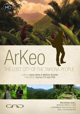 Affiche de La cité perdue des Taironas (Colombie)