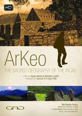Poster of The sacred geography of the Incas (Peru)