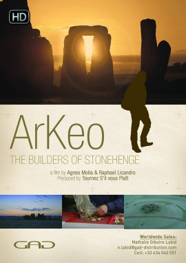 Affiche de Les bâtisseurs de Stonehenge (Angleterre)