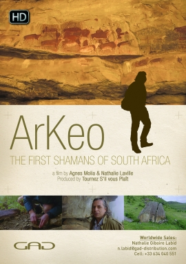 Poster of The first shamans of South Africa