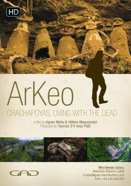 Poster of Chachapoyas, living with the dead (Peru)