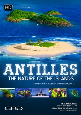 Poster of Antilles, the Nature of the Islands