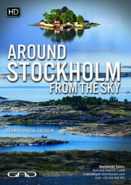 Poster of Around Stockholm from the sky