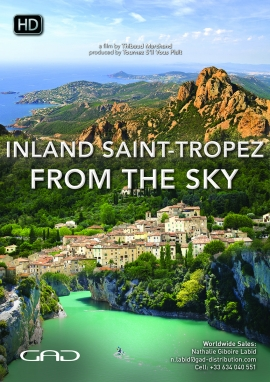 Poster of Inland Saint-Tropez from the sky