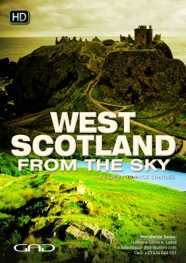 Poster of West Scotland from the sky
