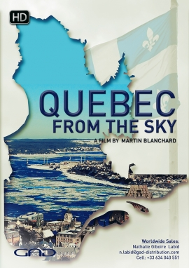 Poster of Quebec from the sky