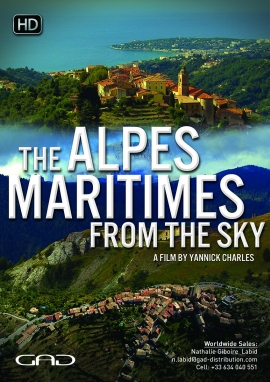 Poster of Alpes Maritimes From the Sky