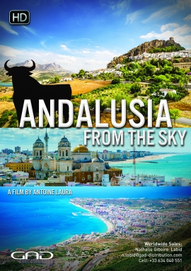 Poster of Andalusia from the sky