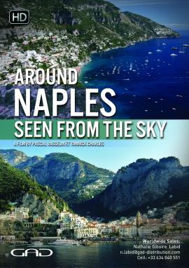 Affiche de Naples vue du ciel