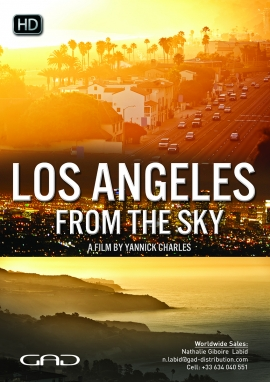 Poster of Los Angeles from the sky