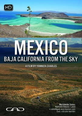 Poster of Mexico: Baja California from the sky