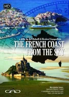 Affiche de Les côtes françaises vues du ciel - 11x13'