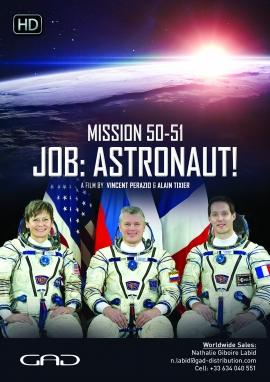Affiche de Mission 50-51, Profession : Astronaute !