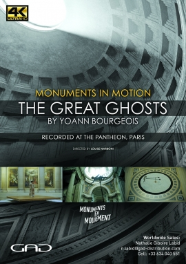 Poster of Monuments in motion - The great Ghosts by Yoann Bourgois