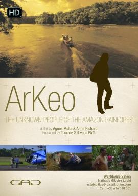 Affiche de Amazonie, un peuple oublié (Amazonie)
