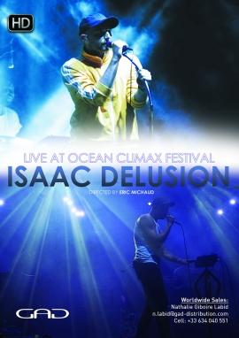 Affiche de Isaac Delusion au Festival Ocean Climax