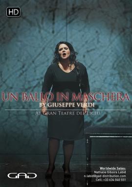 Poster of Un Ballo in Maschera by Giuseppe Verdi