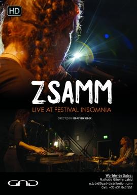 Affiche de Zsamm au Festival Insomnia