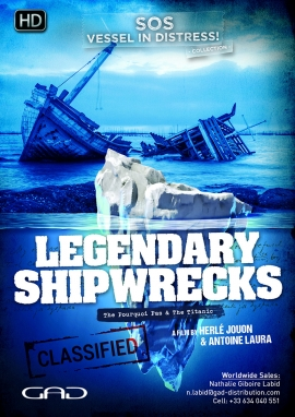 Poster of Legendary shipwrecks