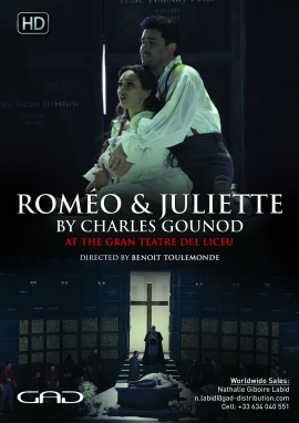 Poster of Romeo and Juliet by Charles Gounod