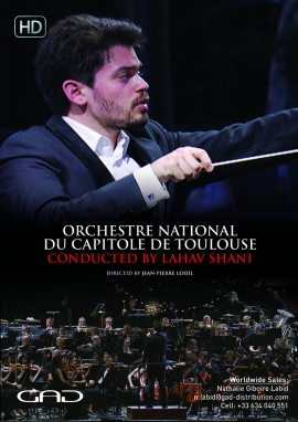 Poster of Lahav Shani conducts the Toulouse National Capitol Orchestra