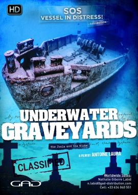 Poster of Underwater graveyards