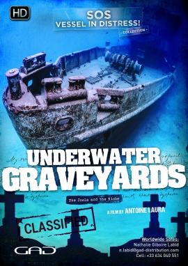 Affiche de Cimetières sous-marins