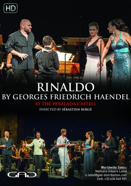 Poster of Rinaldo by Georges Friedrich Haendel