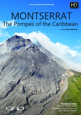 Poster of Montserrat, the Pompeii of the Caribbean