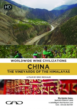 Poster of The vineyards of the Himalayas (China)