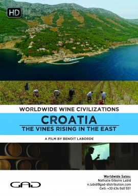 Poster of The vines rising in the East (Croatia)