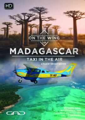 Affiche de Madagascar, le taxi-brousse des airs
