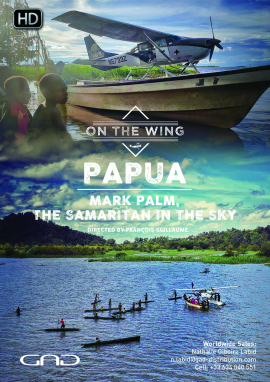 Poster of Mark Palm, the samaritan in the sky (Papua/New Guinea)