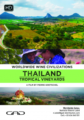 Poster of Tropical vineyards (Thailand)