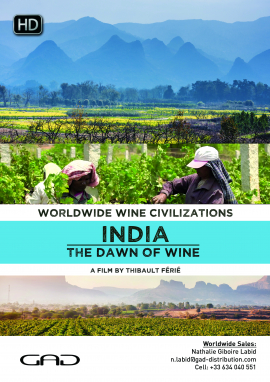 Poster of India: The dawn of wine