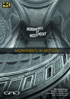 Poster of Monuments in Motion - I remember saying goodbye