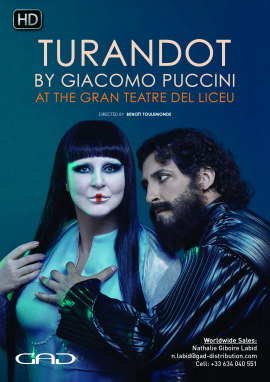 Affiche de TURANDOT de Giacomo Puccini