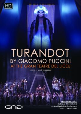 Poster of Turandot by Giacomo Puccini
