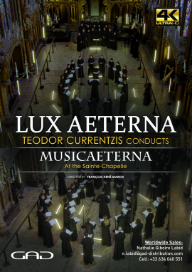 Poster of LUX AETERNA – Teodor Currentzis conducts MusicAeterna at the Sainte-Chapelle