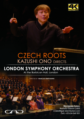 Poster of CZECH ROOTS – Kazushi Ono directs London Symphony Orchestra