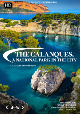 Poster of The Calanques, a national park in the city