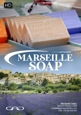 Poster of Marseille soap