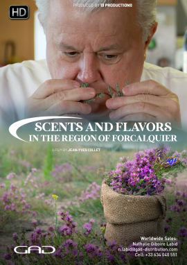 Poster of Scents and flavors in the region of Forcalquier