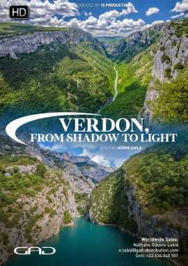 Poster of Verdon, from shadow to light