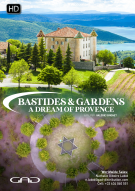 Poster of Bastides and gardens, a dream of Provence
