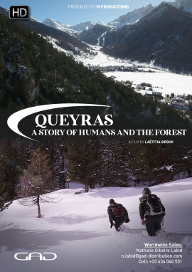 Poster of Queyras, a story of humans and the forest