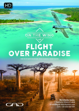 Poster of Flight over paradise (Kenya, Canada, Bolivia, Madagascar)